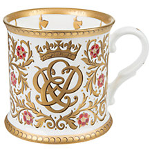 Buy Royal Collection 70th Wedding Anniversary Mug Online at johnlewis.com