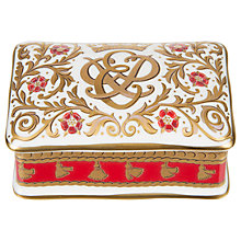 Buy Royal Collection 70th Wedding Anniversary Pillbox Online at johnlewis.com