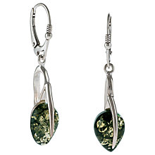 Buy Be-Jewelled Teardrop Amber Drop Earrings Online at johnlewis.com