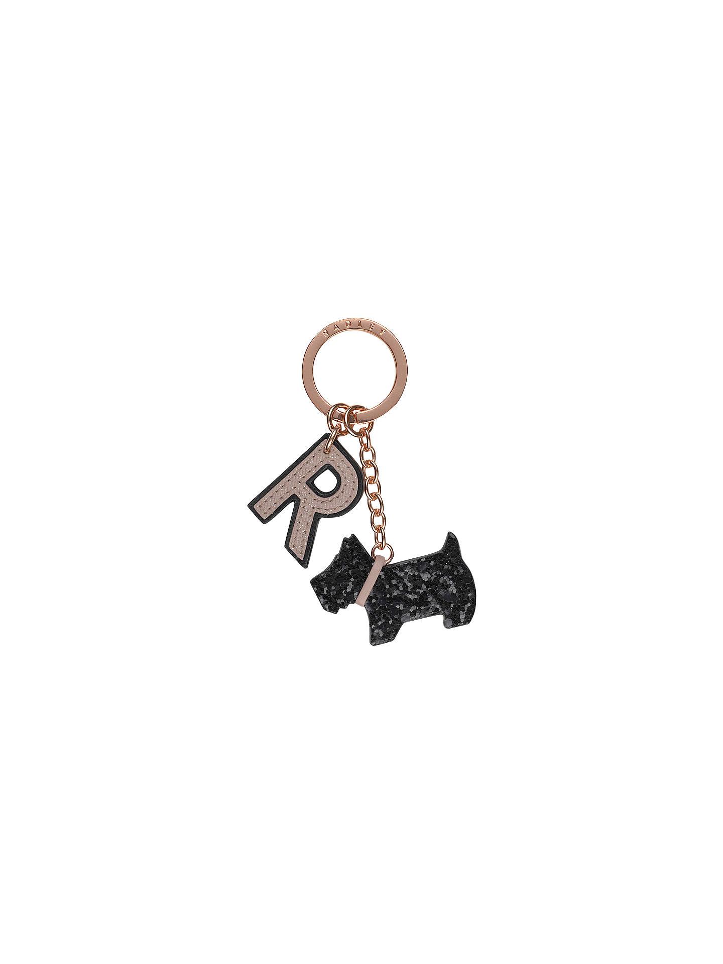 BuyRadley Glitter Dog Leather Keyring 06370348c