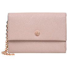 Buy Radley Eaton Place Leather Medium Flapover Wristlet Purse Online at johnlewis.com
