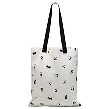 Buy Radley All That Glitters Medium Tote Bag, Natural Online at johnlewis.com