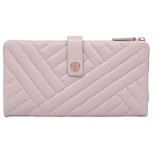 Buy Radley Larks Wood Quilted Large Flap Over Purse Online at johnlewis.com