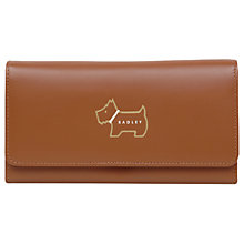 Buy Radley Heritage Dog Leather Outlined Large Matinee Purse Online at johnlewis.com