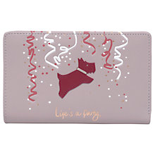 Buy Radley 'Life's A Party' Leather Medium Zip-Top Purse Online at johnlewis.com