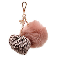 Buy Radley Leather Pom Pom Handbag Charm Online at johnlewis.com