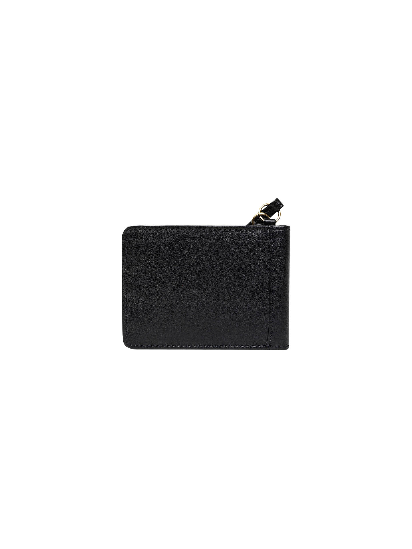 BuyRadley Southwark Park Leather Bag Charm, Black Online at johnlewis.com