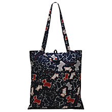 Buy Radley Speckle Dog Foldaway Tote Bag Online at johnlewis.com