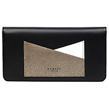 Buy Radley London Lane Leather Matinee Purse, Black Online at johnlewis.com