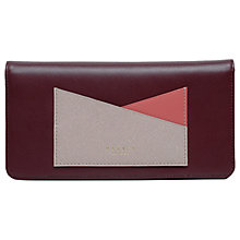 Buy Radley London Lane Leather Flapover Matinee Purse Online at johnlewis.com
