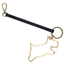 Buy Radley Metal Outline Dog Bag Charm Online at johnlewis.com