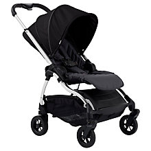 Buy iCandy Raspberry Pushchair, Chrome/Bloomsbury Black Online at johnlewis.com