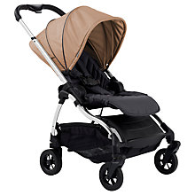 Buy iCandy Raspberry Pushchair, Chrome/Savile Row Sand Online at johnlewis.com