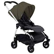 Buy iCandy Raspberry Pushchair, Chrome/Kings Road Khaki Online at johnlewis.com