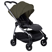 Buy iCandy Raspberry Pushchair, Moonrock/Kings Road Khaki Online at johnlewis.com