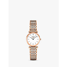 Buy Longines L42091927 Women's La Grande Classique Two Tone Bracelet Strap Watch, Rose Gold/Silver Online at johnlewis.com