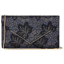 Buy Oasis NTU Jacquard Envelope Clutch Bag, Multi Blue Online at johnlewis.com