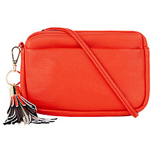 Buy Oasis Pixi Cross Body Camera Bag, Mid Red Online at johnlewis.com