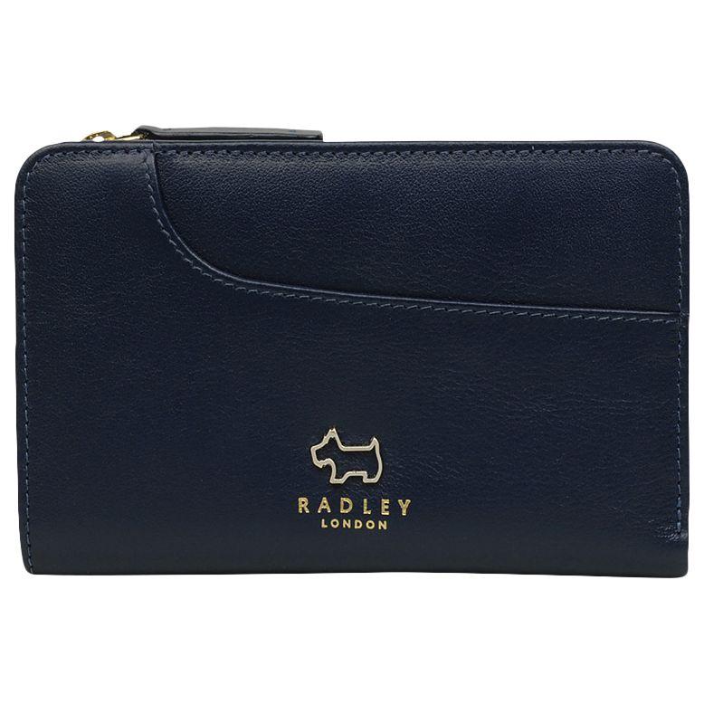 Radley Radley Pockets Leather Medium Zip Top Purse
