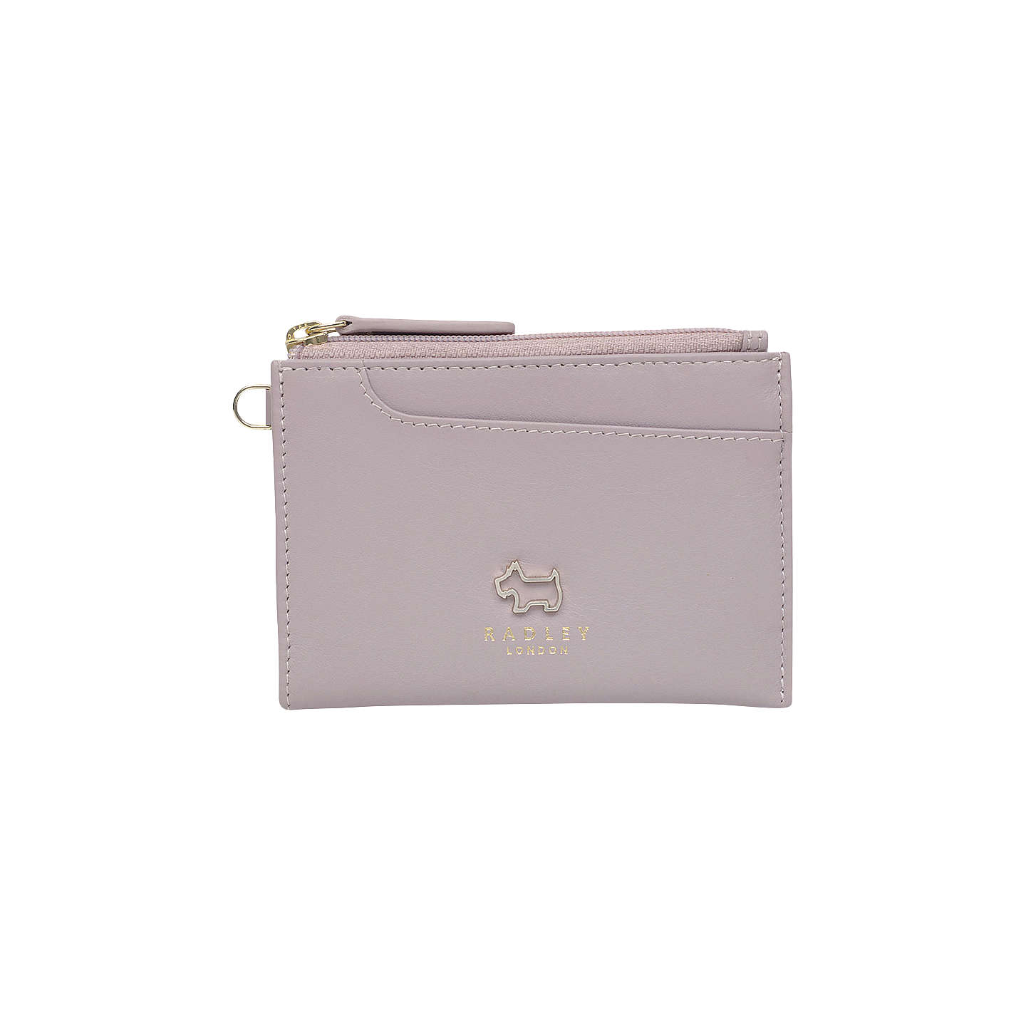 BuyRadley Pockets Leather Small Coin Purse, Pale Pink Online at  johnlewis.com ...