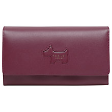 Buy Radley Profile Dog Leather Flapover Large Matinee Purse Online at johnlewis.com