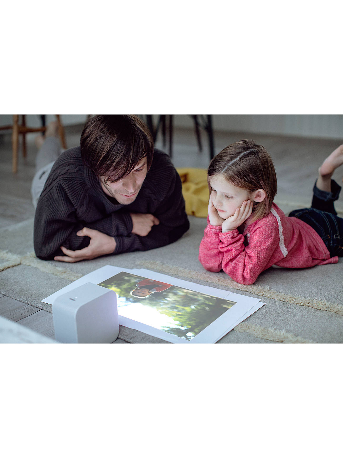 Buy Sony LSPX-P1 HD 720p Ultra Short Throw Portable Laser Projector with Wi-Fi Online at johnlewis.com
