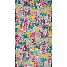 Buy John Lewis Flora Wallpaper, Dark Duck Egg Online at johnlewis.com