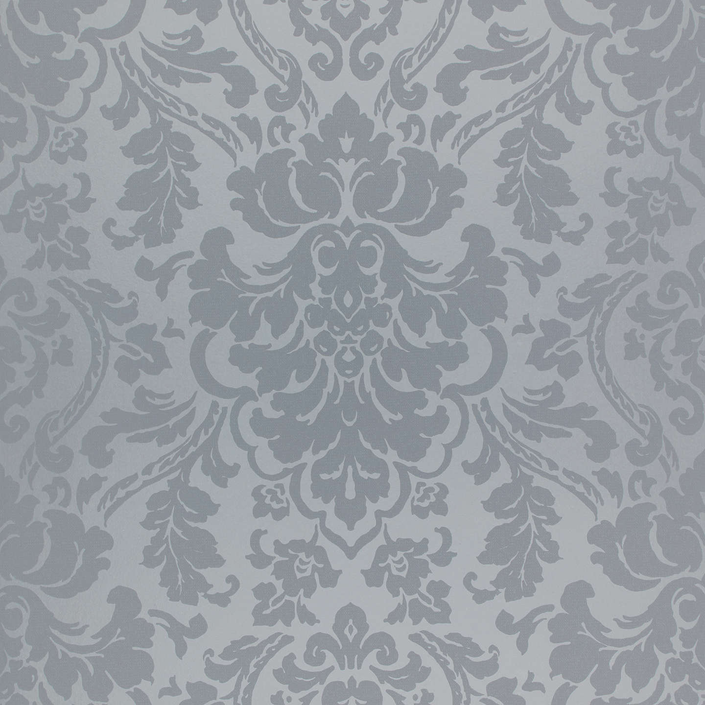 Buyjohn Lewis Stockbridge Damask Wallpaper, Thistle Online At Johnlewiscom
