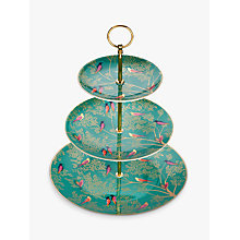 Buy Sara Miller Chelsea Collection Cake Stand, Green Online at johnlewis.com