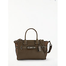 Buy Coach Swagger 27 Leather Carryall Grab Bag Online at johnlewis.com
