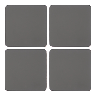 John Lewis & Partners Scandi Painted Wood Coasters, Set of 4