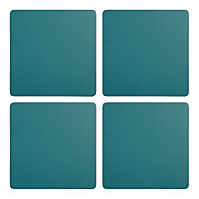 Buy John Lewis Scandi Painted Wood Coasters, Set of 4 Online at johnlewis.com