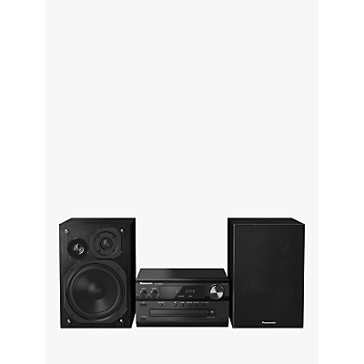 Image of PANASONIC PMX82EB Wireless Traditional Hi-Fi System - Black, Black
