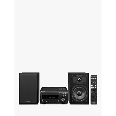Image of Denon D-M41DAB DAB/DAB+/FM/CD Bluetooth Micro System, Black