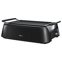 Buy Philips HD6370/91 Smokeless Indoor Grill Online at johnlewis.com