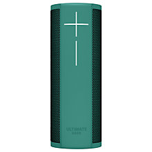 Buy Ultimate Ears BLAST Bluetooth Wi-Fi Waterproof Portable Speaker with Alexa Voice Recognition & Control, Green + POWER UP Charging Dock Online at johnlewis.com