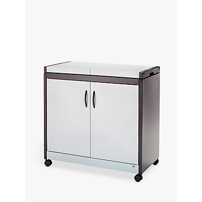Image of Crosslee HL6232SV Hostess Trolley, Silver