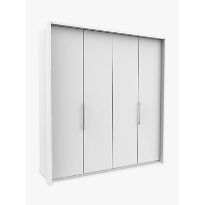 John Lewis & Partners Pirna Bi Fold 200cm 4 Door Wardrobe
