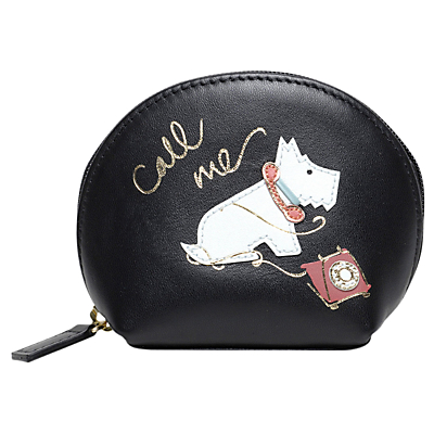 Radley Call Me Leather Small Zip Around Coin Purse