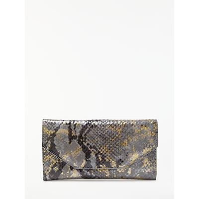 Modern Rarity Carmenere Leather Wallet, Blue Snake