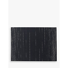Buy Chilewich Dash Rectangular Placemat, Indigo Online at johnlewis.com