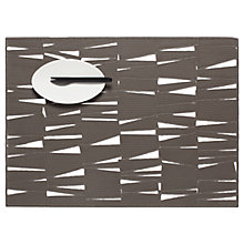 Buy Chilewich Modern Rectangular Placemat, Smoke Online at johnlewis.com