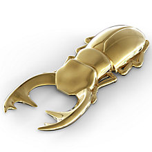 Buy Fred Beetle Bottle Opener, Gold Online at johnlewis.com