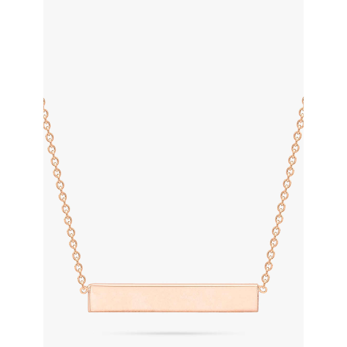 cr bar message gold horizontal necklace img