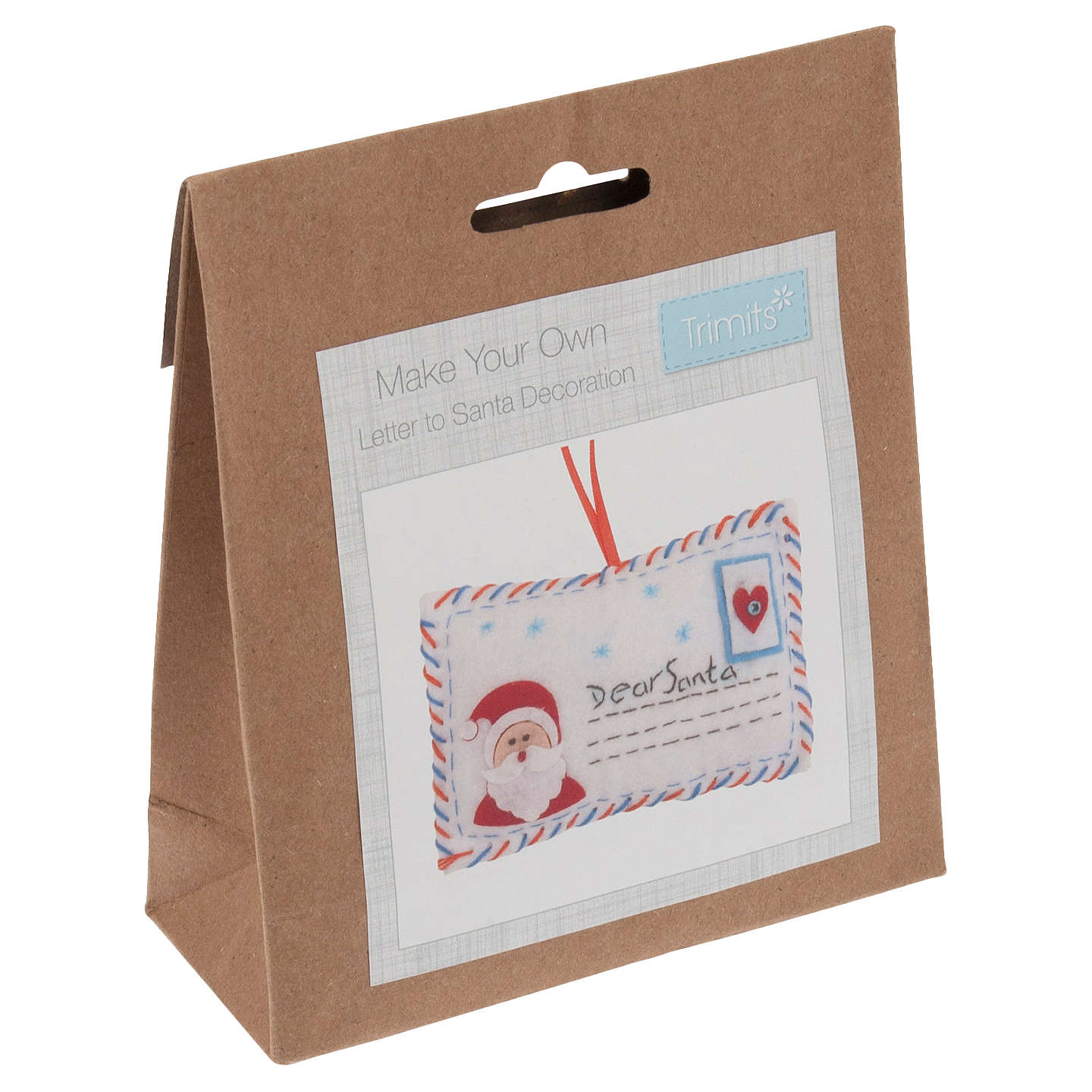 Trimits christmas letter to santa felt craft kit at john lewis buytrimits christmas letter to santa felt craft kit online at johnlewis spiritdancerdesigns Image collections
