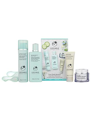 Liz Earle Essentials Kit, Superskin™ Moisturiser Unfragranced for Sensitive Skin