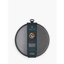 Buy Masterclass Crusty Bake Pizza Tray, Dia.32cm Online at johnlewis.com