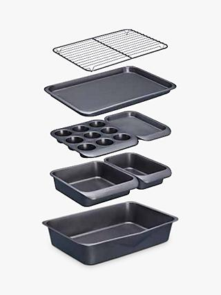 Masterclass Non-Stick Stacking Bakeware Set, 7 Pieces