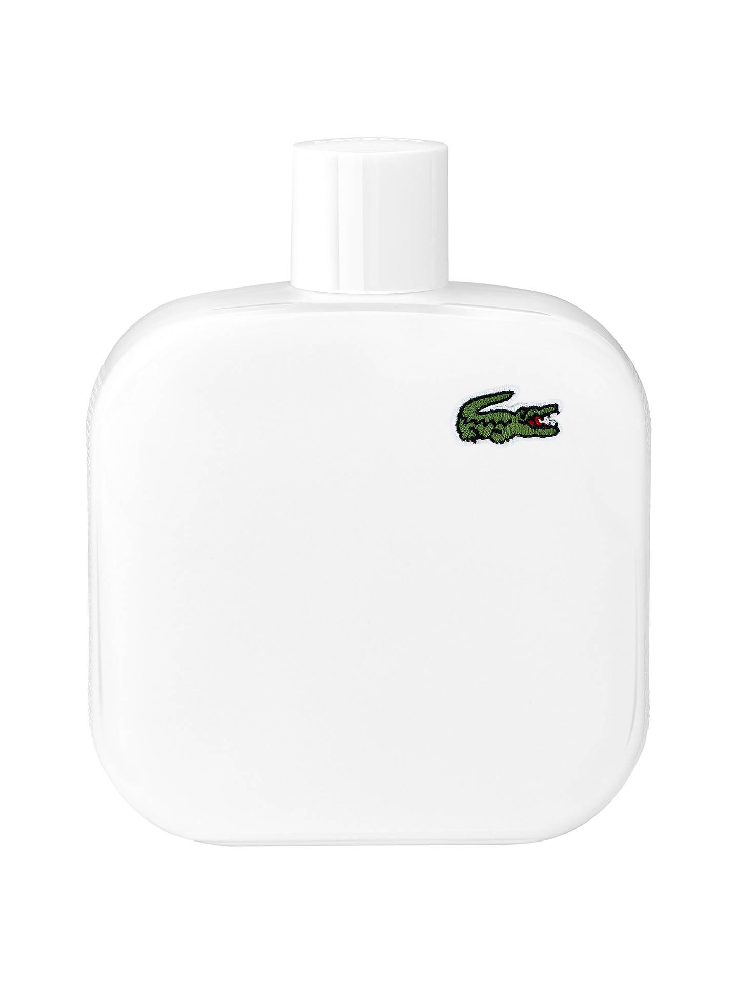 L12 12 De Pour Toilette Homme Blanc Lacoste Eau 8wnPkX0O