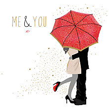 Buy Portfolio Me & You Valentine's Day Card Online at johnlewis.com